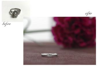 エンゲージ(婚約指輪)リフォームのススメ。#10