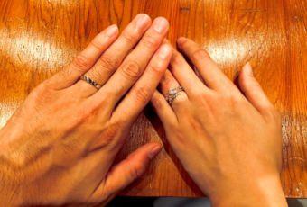 フラワーモチーフの婚約指輪 #18