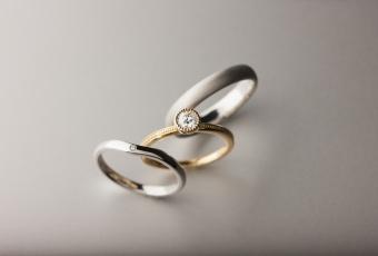 デザインが古い婚約指輪を、素敵にリメイク。#81