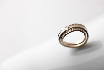大きいサイズの結婚指輪も製作できます♡#172